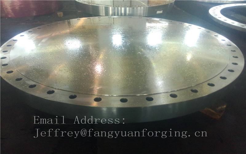 ASTM ASME F316 F306L S31608 SUS316 Stainless Steel Forged Discs Customized